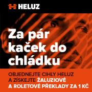 Žaluziové a roletové překlady za 1Kč